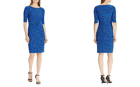 Lauren Ralph Lauren Floral Jersey Dress - Bloomingdale's_2