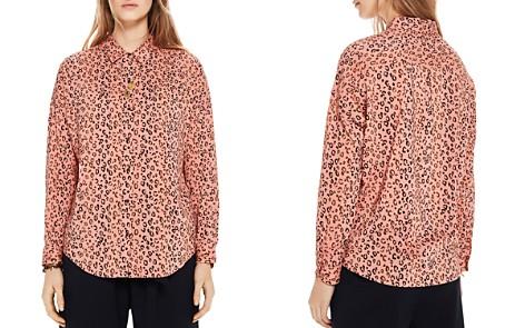 Scotch & Soda Boxy Cheetah Print Button-Down Shirt - Bloomingdale's_2
