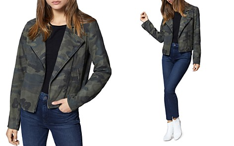 Sanctuary Peace Rider Camo Suede Moto Jacket - Bloomingdale's_2