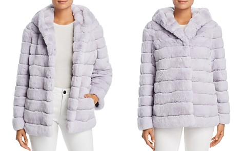 Maximilian Furs Hooded Rabbit Fur Coat - 100% Exclusive - Bloomingdale's_2