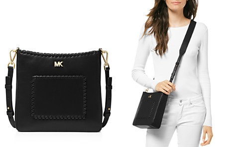 MICHAEL Michael Kors Gloria Medium Leather Crossbody - Bloomingdale's_2