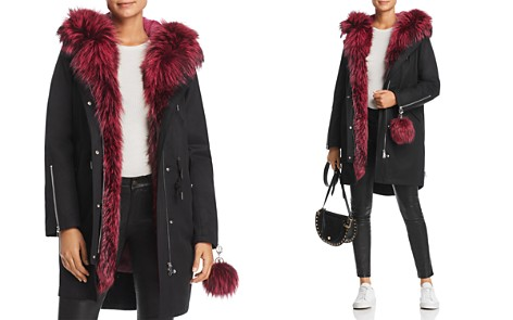 Maximilian Furs Rabbit Fur-Lined Parka with Fox Fur Trim- 100% Exclusive - Bloomingdale's_2