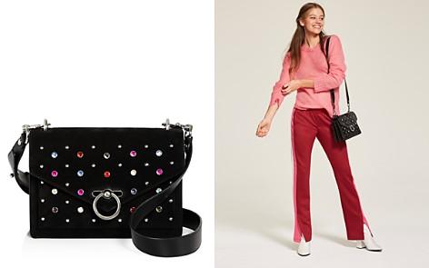 Rebecca Minkoff Jean Crystal Medium Studded Suede Shoulder Bag - Bloomingdale's_2