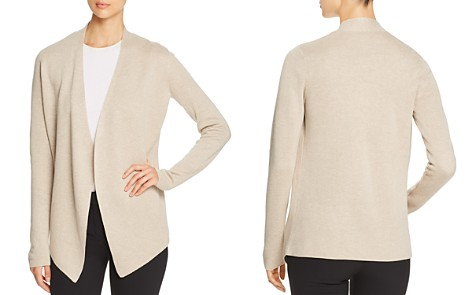 Eileen Fisher Angled-Hem Open Cardigan - Bloomingdale's_2