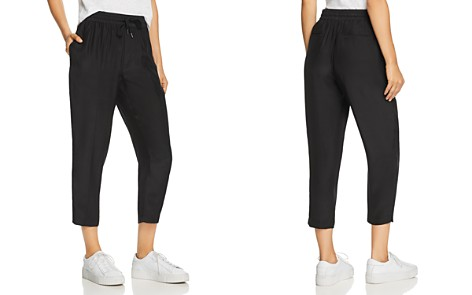 ATM Anthony Thomas Melillo Silk Cropped Pants - Bloomingdale's_2