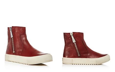 Frye Women's Gia Side Zip Leather High Top Sneakers - Bloomingdale's_2