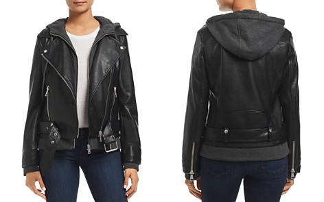 Bagatelle Layered-Look Faux-Leather Moto Jacket - Bloomingdale's_2