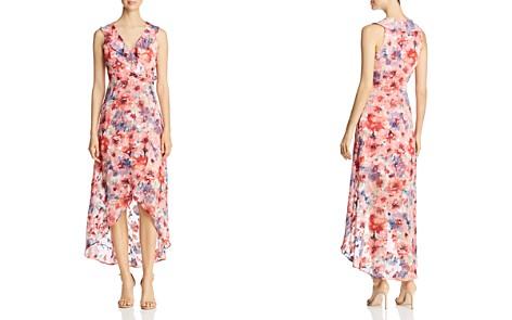 Cupio Floral Print Faux-Wrap Midi Dress - Bloomingdale's_2
