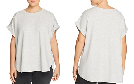 Cupio Plus Drop-Shoulder Short Sleeve Top - Bloomingdale's_2