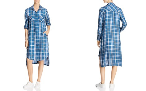 Billy T Studded Plaid Shirt Dress - Bloomingdale's_2