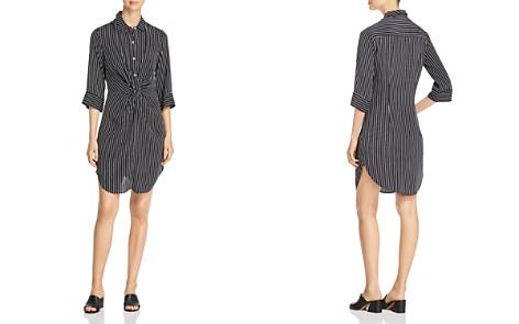 Three Dots Striped & Twisted Shirt Dress - Bloomingdale's_2