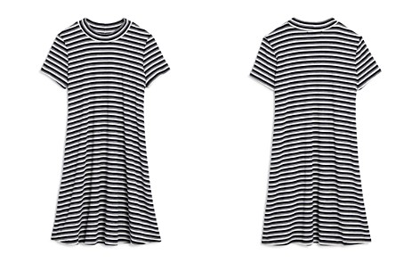 AQUA Girls' Striped Swing Dress, Big Kid - 100% Exclusive - Bloomingdale's_2