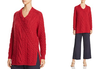 Weekend Max Mara Cinema Directional Cable Knit Sweater - 100% Exclusive - Bloomingdale's_2