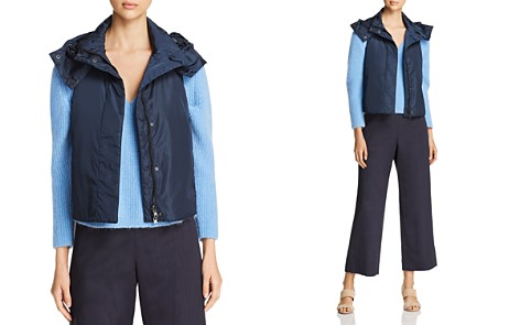 Weekend Max Mara Erivan Water Resistant Hooded Vest - 100% Exclusive - Bloomingdale's_2