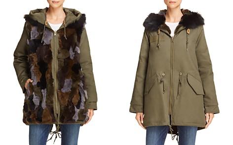 AQUA Reversible Fur-Lined Anorak - 100% Exclusive - Bloomingdale's_2