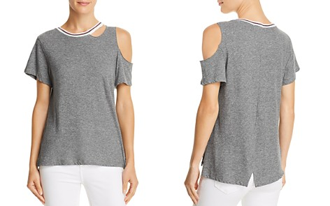LNA Cutout High/Low Tee - 100% Exclusive - Bloomingdale's_2