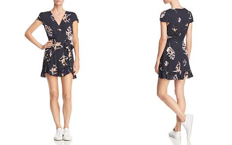 Lost + Wander Catalina Printed Faux-Wrap Mini Dress - Bloomingdale's_2