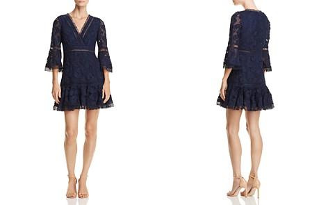 AQUA Bell Sleeve Lace Dress - 100% Exclusive - Bloomingdale's_2