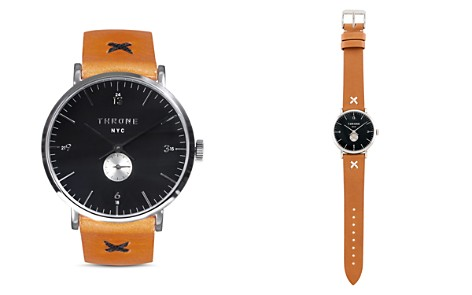 Throne Ramble 1.0 Natural Classic Watch, 40mm - Bloomingdale's_2
