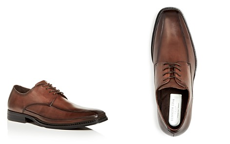 Kenneth Cole Men's Leather Square Toe Oxfords - Bloomingdale's_2