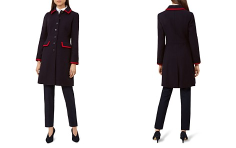 HOBBS LONDON Elle Tipped Coat - Bloomingdale's_2