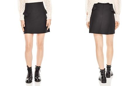 Sandro Oro Ruffled A-Line Mini Skirt - Bloomingdale's_2