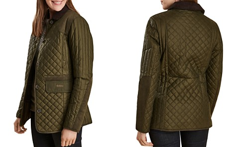 Barbour Dunnock Quilted Waxed Jacket - Bloomingdale's_2