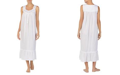 Eileen West Sleeveless Long Cotton Ballet Nightgown - Bloomingdale's_2