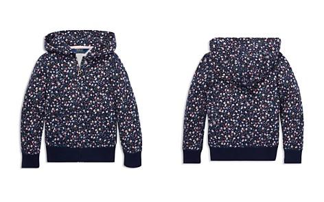 Polo Ralph Lauren Girls' Floral Terry Hoodie - Little Kid - Bloomingdale's_2