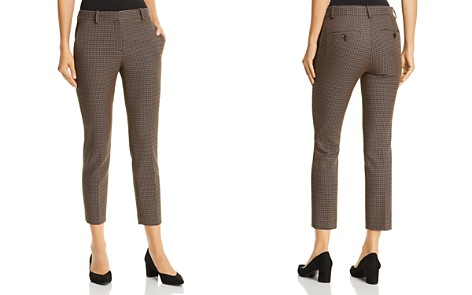 Theory Treeca Cropped Jacquard Pants - Bloomingdale's_2