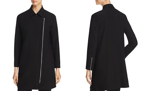 Eileen Fisher Asymmetric Zip Jacket - Bloomingdale's_2