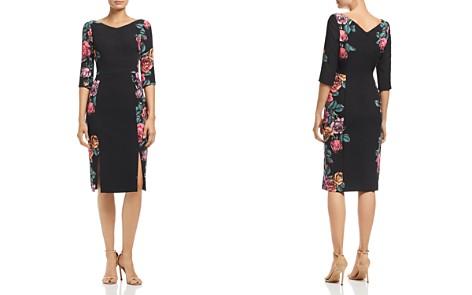 Black Halo Carie Floral Dress - Bloomingdale's_2