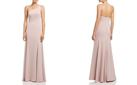 Watters Jelina One-Shoulder Gown - Bloomingdale's_2
