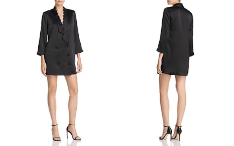 CAMI NYC Silk Tuxedo-Jacket Dress - Bloomingdale's_2