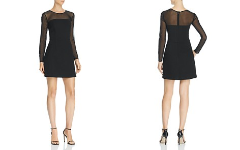 FRENCH CONNECTION Ruth Sheer-Sleeve Dress - Bloomingdale's_2