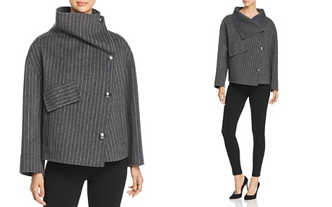 Emporio Armani Striped Wool Jacket - Bloomingdale's_2