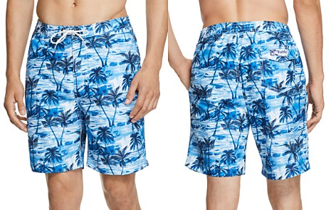 Trunks Surf & Swim Co. Tropical Palm-Print Board Shorts - 100% Exclusive - Bloomingdale's_2