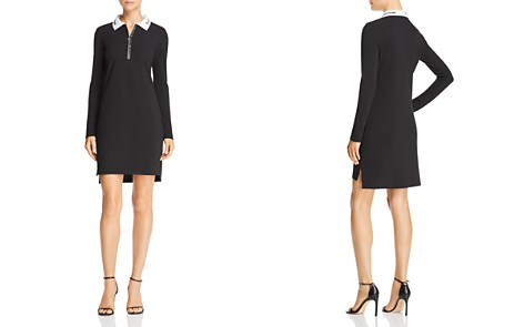 T by Alexander Wang Pique Polo Dress - Bloomingdale's_2