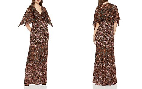 BCBGeneration Mixed-Print Tiered Maxi Dress - Bloomingdale's_2