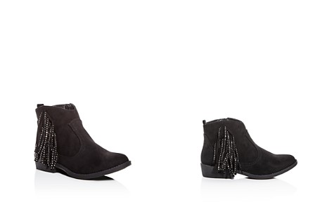 STEVE MADDEN Girls' Maggy Fringe Low-Heel Booties - Little Kid, Big Kid - Bloomingdale's_2