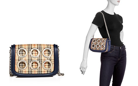 Burberry 1983 Check Grommet Shoulder Bag - Bloomingdale's_2