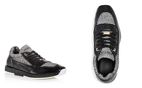 Jimmy Choo Men's Jett Mixed Media Lace Up Sneakers - Bloomingdale's_2