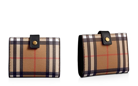 Burberry Vintage Check Small Leather Folding Wallet - Bloomingdale's_2