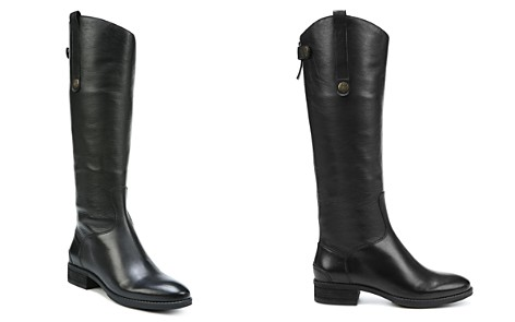 Sam Edelman Women's Penny Round Toe Leather Low-Heel Riding Boots - Bloomingdale's_2