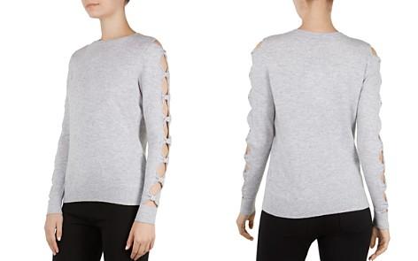 Ted Baker Danikaa Cutout Bow Sleeve Sweater - Bloomingdale's_2