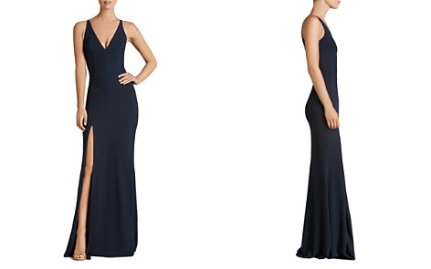 Dress the Population Iris Plunging Mermaid Gown - Bloomingdale's_2
