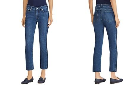 Lauren Ralph Lauren Raw-Hem Cropped Jeans in Indigo - Bloomingdale's_2