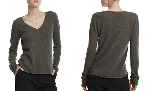 ATM Anthony Thomas Melillo Cashmere V-Neck Sweater - Bloomingdale's_2