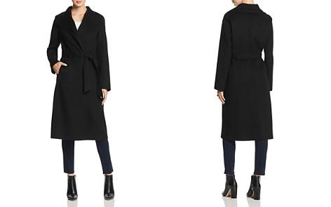 T Tahari Elliot Double Collar Coat - Bloomingdale's_2