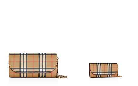 Burberry Small Vintage Check Leather Convertible Wallet Shoulder Bag - Bloomingdale's_2